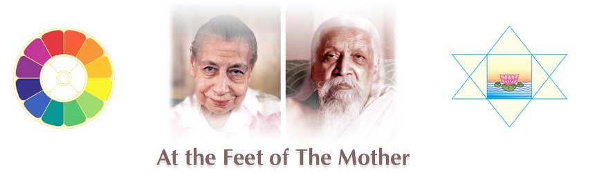 At the Feet of The Mother