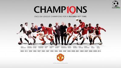 Skuad MU Manchester United - Wallpaper Sepakbola Terbaru 2012-2013