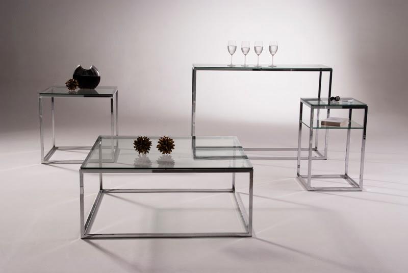 Armario Nancy Antiguo ~ Mesa de centro, lateral e aparador em aço inox e vidro Design Inox