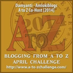 Co-hosting A to Z Challenge 2014!
