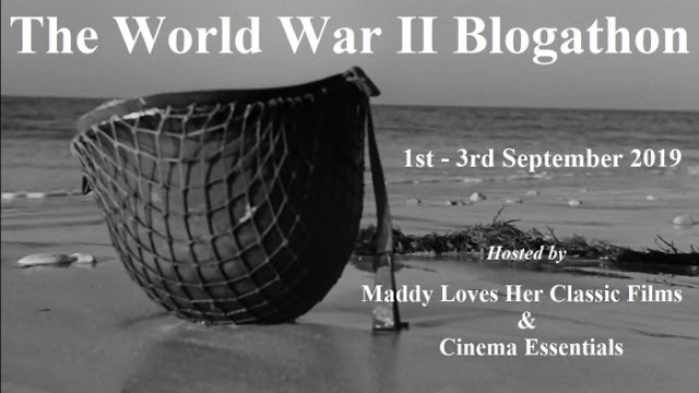 Coming September 1-3, 2019: The World War II Blogathon