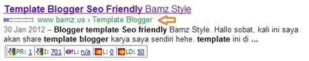Pasang Breadcrumb Google di Blogger
