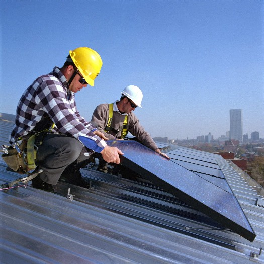 Solar Panels: Solar panel installation