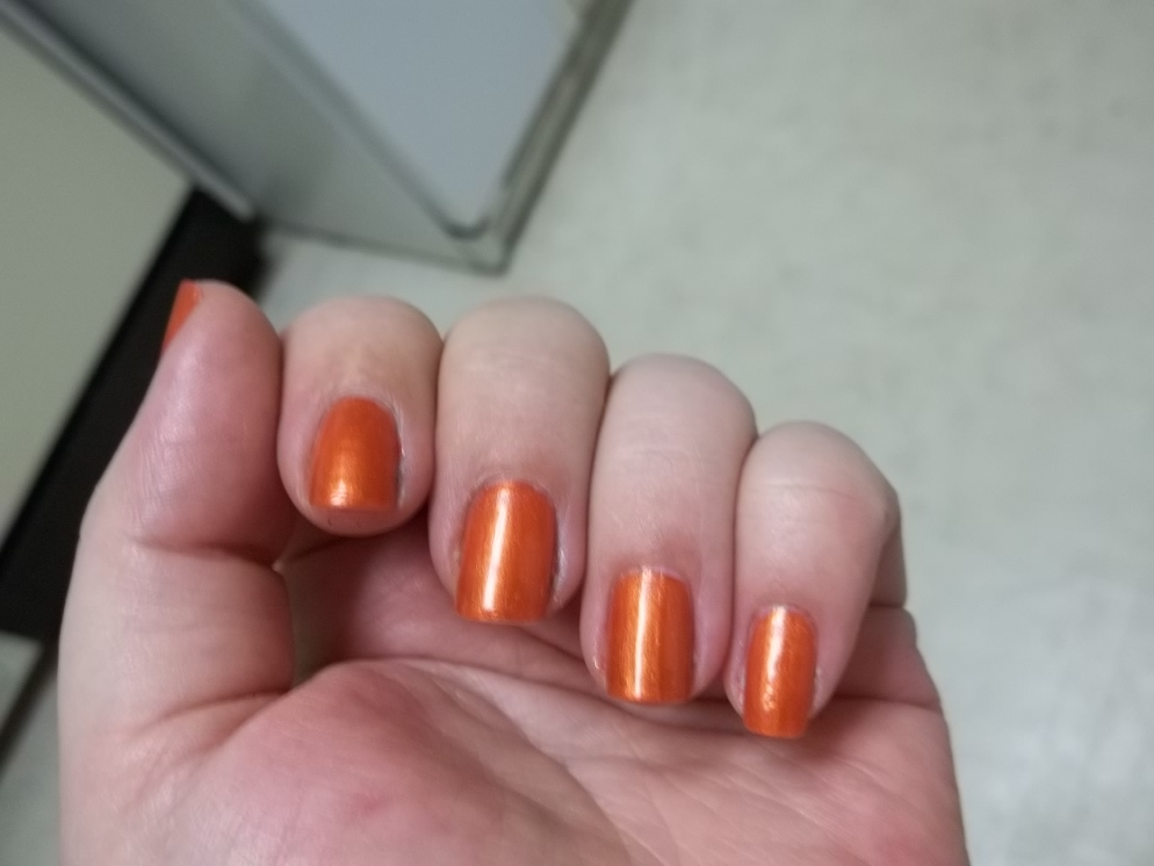 Conceptionail: NOTD - Nina Ultra Pro\'s Burnished Orange & Evening Sun