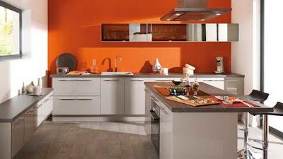 Dapur Minimalis Cantik on Warna Dapur Minimalis Selanjutnya Tampak Modern Berkat Perpaduan