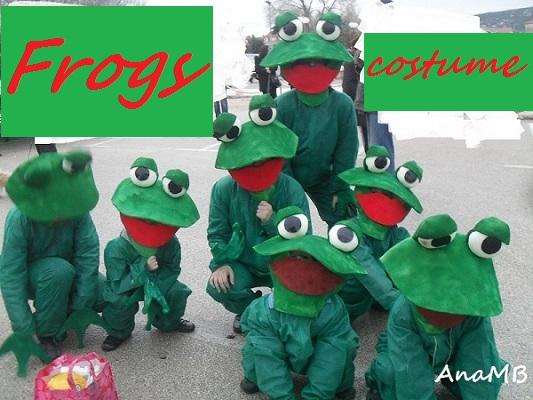 Žabe, kostimi za maškare