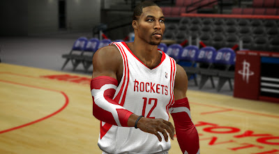 2K Dwight Howard Face Hair Texture Mod