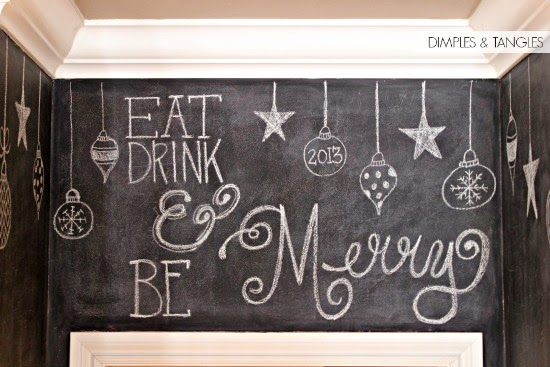 Dimples and Tangles: CHRISTMAS CHALKBOARDS
