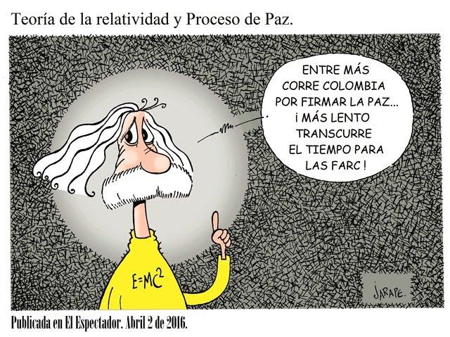 Teoría de la relatividad y Proceso de Paz