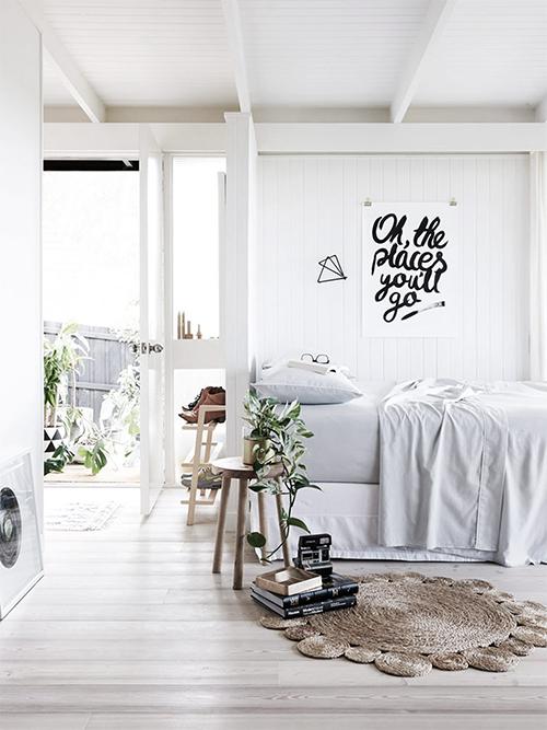 white wall, minimal, apartment