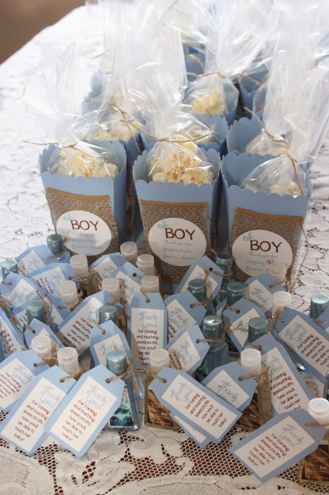 My dirty aprons oh boy baby blue shower for Baby boy shower decoration