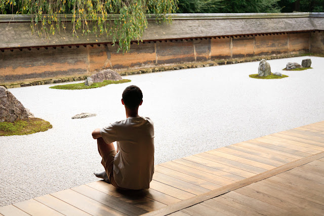 estilos de jardim japonês: jardim zen; jardim japones