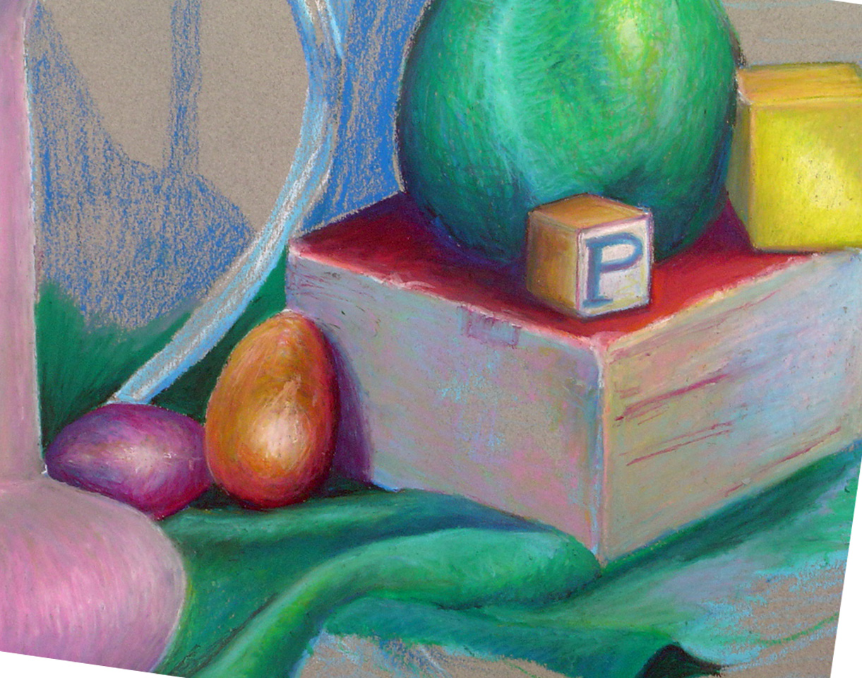 Mayknart How To Start An Oil Pastel Drawing