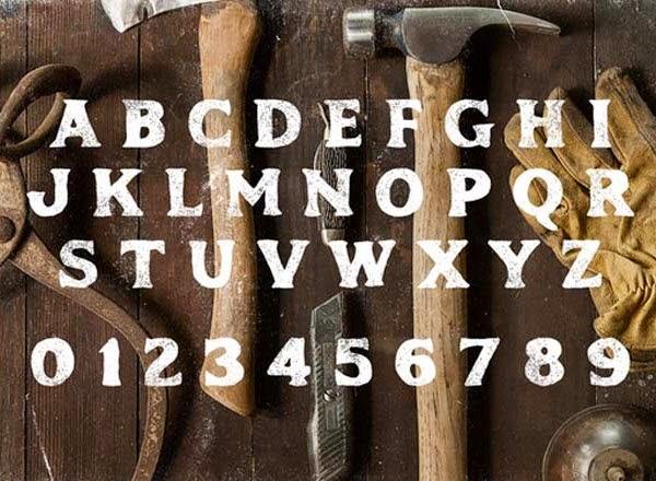 Phalanx vintage free font