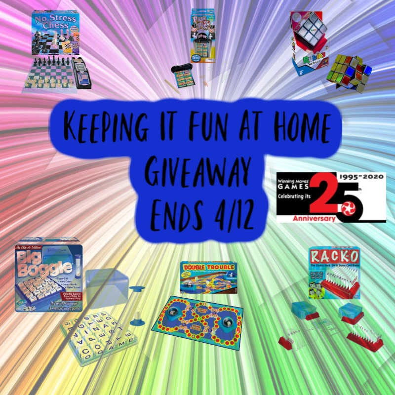 Keeping It Fun At Home Giveaway