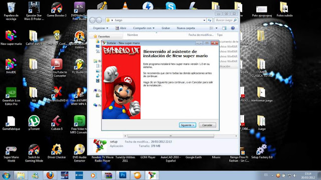 New Super Mario Bros PC Emulado Español Descargar