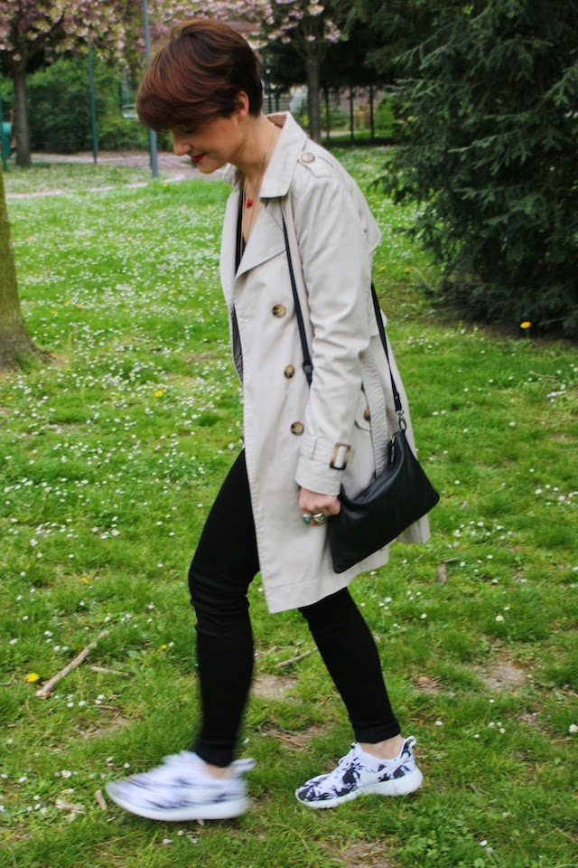 camaieu, zara, nike, roshe run, zara, blog, fashion blogger, blog mode lille, pretty wire