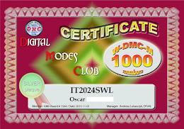 DMC Award 1000 members