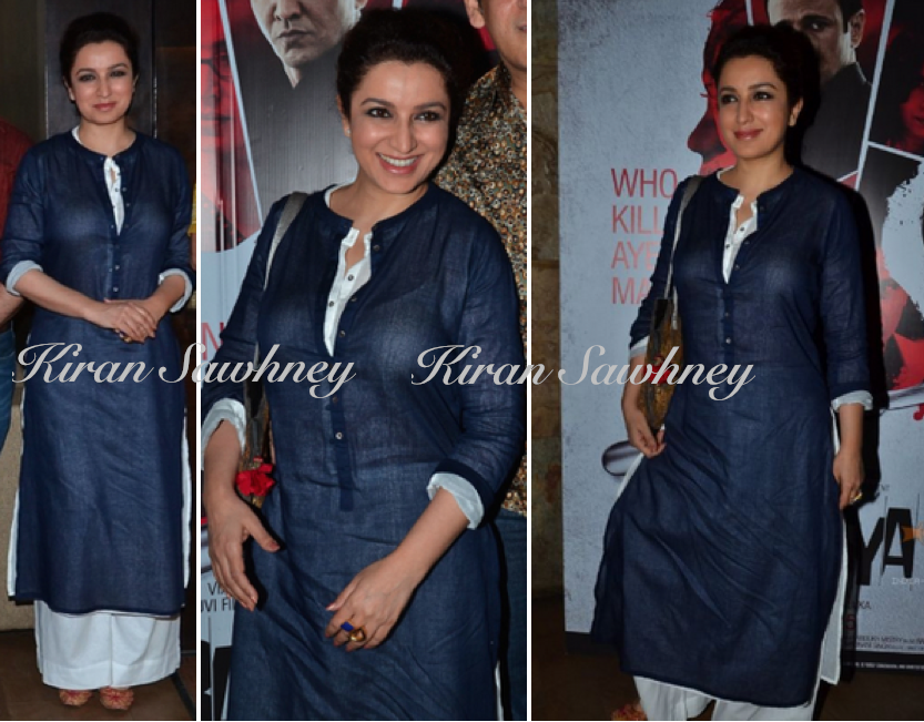 Tisca Chopra At Rahasya Screening in Sustain By Good Earth