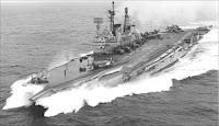 Audacious class aircraft carrier