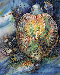 Turtle Mother by Helena Nelson-Reed