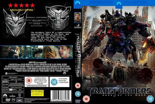 essay about transformers movie cover