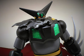 BLACK GETTER ROBOT SUPER ROBOT CHOGOKIN