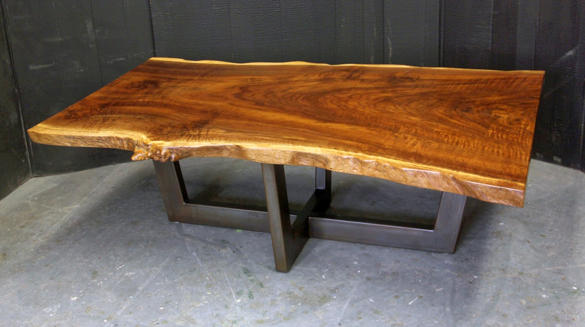 A Live Edge Coffee Table