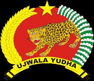 Logo Yonif Linud 502 Ujwala Yudha