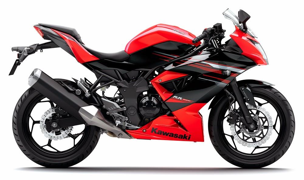 Foto Kawasaki Ninja 250cc 4 Silinder Motor Terbaru 2014