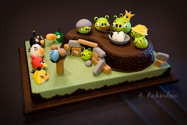 ANGRY BIRDS BIRTHDAY CAKES   Do You Wanna Your Birthday Cake Like That