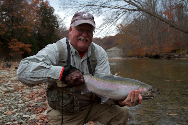 Steelhead alley outfitters lake erie fly fishing guide for Fisher fish chicken indianapolis in