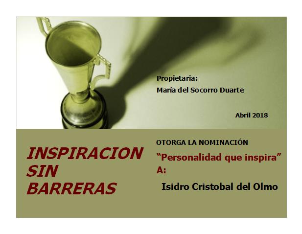 inspiración sin barreras