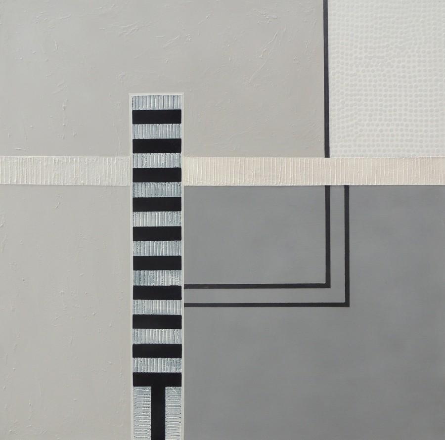 Sylvie Hamou - Linear construction II