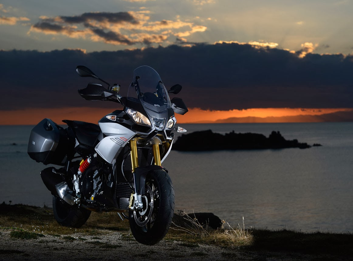 Upcoming Aprilia ETV 1000cc Caponord Motorcycles