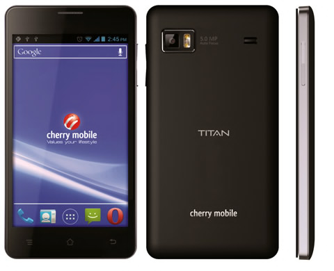 Cherry Mobile Titan: Overview, Price and Tech Specs