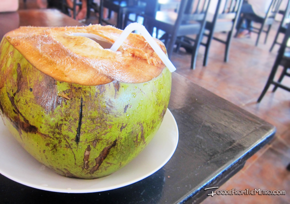 Baler - Coconut Juice in a Shell