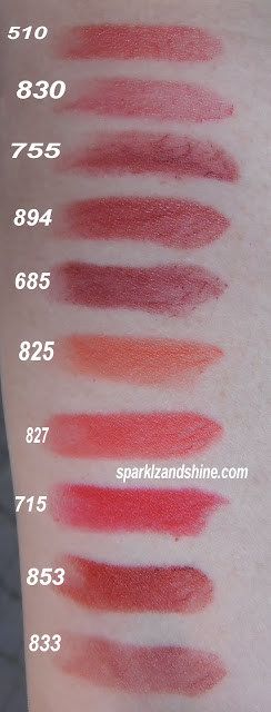 Max Factor Colour Elixir Lipstick - Swatches