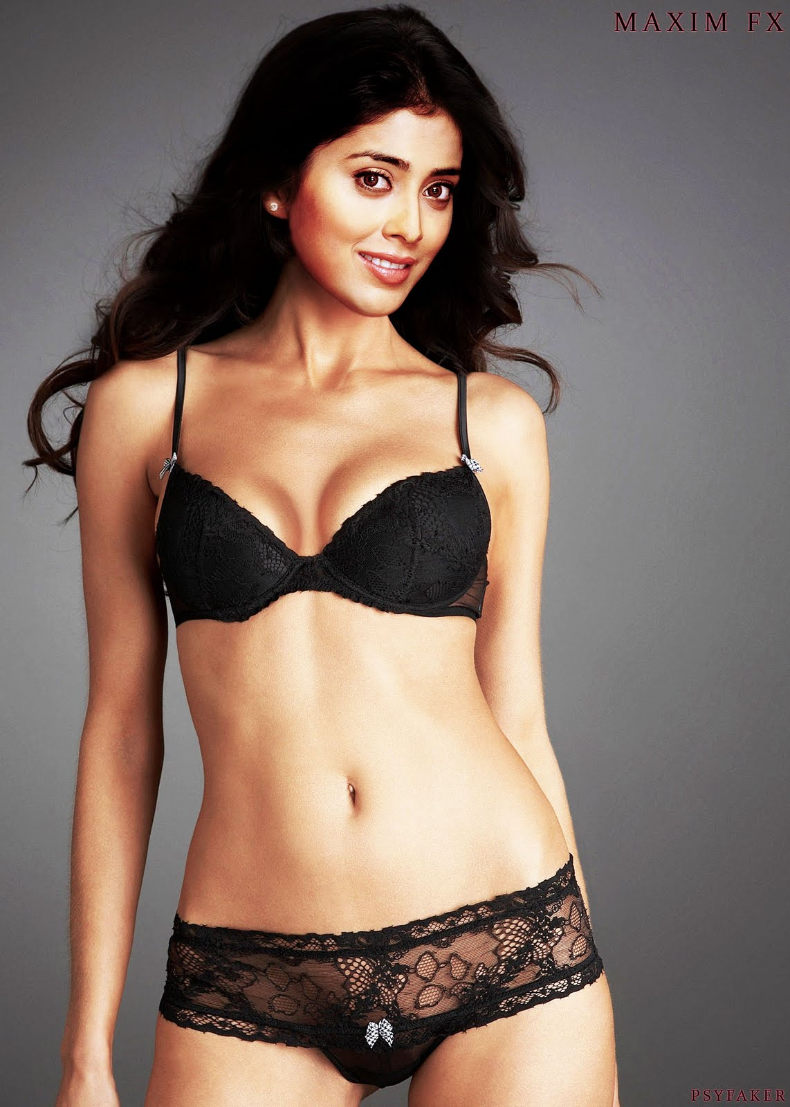Check Out Shriya Saran Bra Panty This Fake Picture Someone