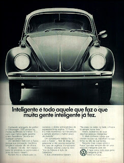 propaganda Volks 1300 (Fusca) - 1973; 1973; brazilian advertising cars in the 70s; os anos 70; história da década de 70; Brazil in the 70s; propaganda carros anos 70; Oswaldo Hernandez;
