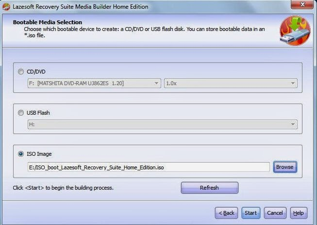Instalación de Lazesoft Recovery Suite