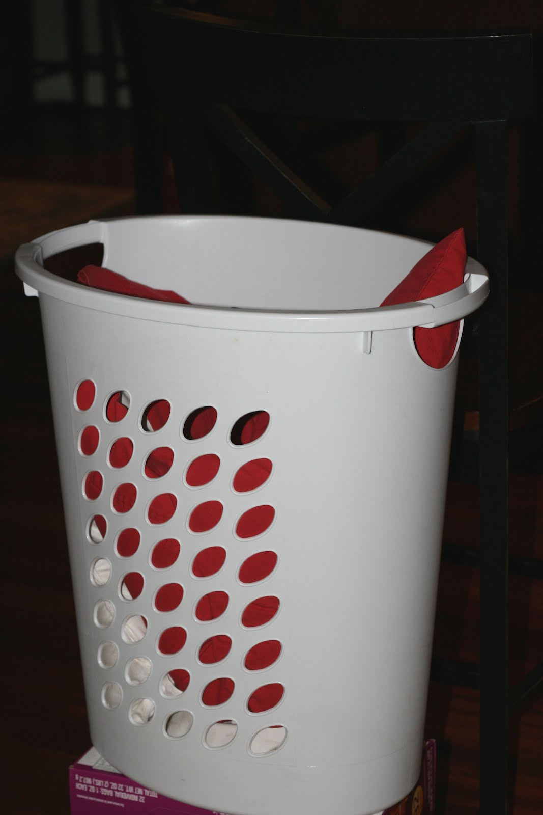 Let the good times roll 2012 03 25 - Laundry basket basketball hoop ...