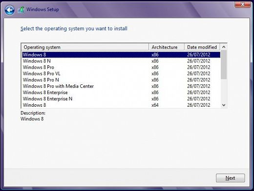 windows 8 pro with media center crack