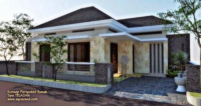Desain Rumah Minimalis 1 Lantai Type 150