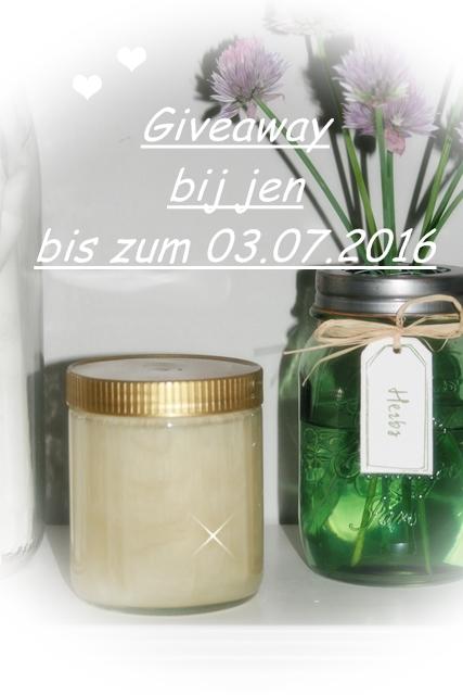 süßes Giveaway bei Bij Jen
