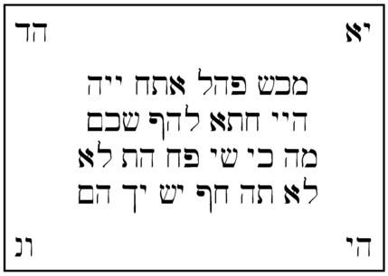 Practical Kabbalah and Self Creation: An Amulet to Break Evil Spells
