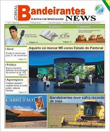 Capa do Jornal Bandeirantes News