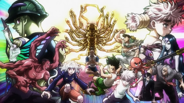 Hunter x Hunter Chimera Ant Arc 1y