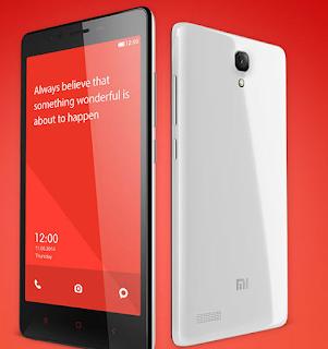 Harga dan Spesifikasi Xiaomi Redmi Note 4G LTE