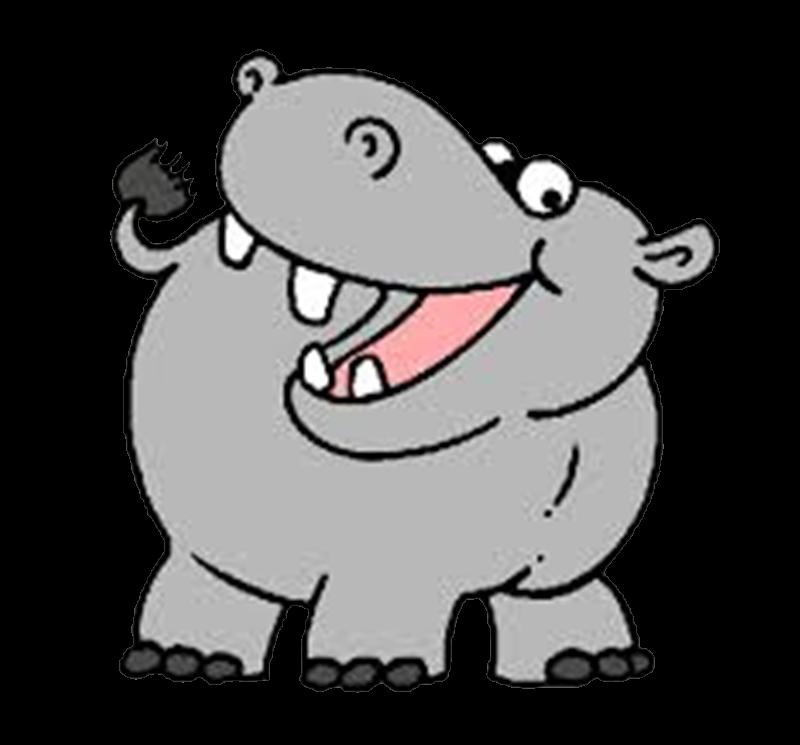Hipopotamo de caricatura - Imagui
